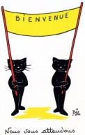 ILLUSTRATEUR    ILL  431  /   BIZ  ED MARCEL VAYSSE /  LES CHATS  / CATS     N° 56      CPM / CPSM  10 X 15 Neuve - Autres Illustrateurs
