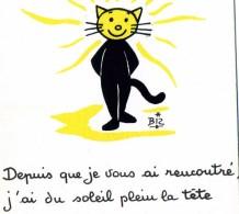 ILLUSTRATEUR    ILL  431  /   BIZ  ED MARCEL VAYSSE /  LES CHATS  / CATS     N° 58      CPM / CPSM  10 X 15 Neuve - Autres Illustrateurs