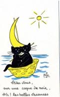 ILLUSTRATEUR    ILL  431  /   BIZ  ED MARCEL VAYSSE /  LES CHATS  / CATS     N° 61      CPM / CPSM  10 X 15 Neuve - Autres Illustrateurs