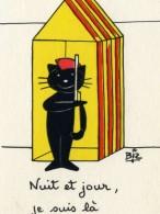 ILLUSTRATEUR    ILL  431  /   BIZ  ED MARCEL VAYSSE /  LES CHATS  / CATS     N° 66      CPM / CPSM  10 X 15 Neuve - Humoristiques
