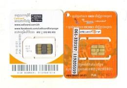CARTES GSM/SIM CAMBODGE  3,5G  Cellcard  (lot De 2) - Cambodia