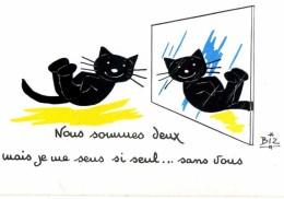 ILLUSTRATEUR    ILL  431  /   BIZ  ED MARCEL VAYSSE /  LES CHATS  / CATS     N° 67      CPM / CPSM  10 X 15 Neuve - Autres Illustrateurs