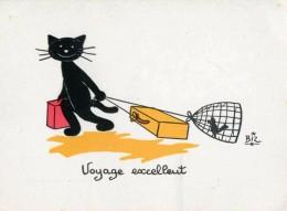 ILLUSTRATEUR    ILL  431  /   BIZ  ED MARCEL VAYSSE /  LES CHATS  / CATS     N° 85     CPM / CPSM  10 X 15 Neuve - Autres Illustrateurs