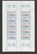 TAAF 1981 - Poste Aérienne - N° 70 - Feuille Entière De 10 Timbres - Neuve** - 1er Choix - Airmail