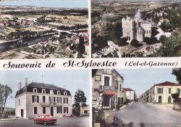 Bc - Cpsm Grand Format Souvenir De ST SYLVESTRE - France