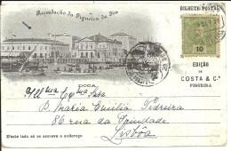 PORTUGAL - LEIRIA - RECORDAÇÃO DA FIGUEIRA DA FOZ - DOCA - (Ed. Costa & Cª) - Leiria