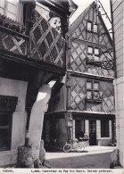 Bc - Cpsm Grand Format CHINON - Carrefour Du Puy Des Bancs - Maison Gothique - Chinon