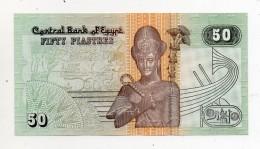 Egitto -Banconota Da 50 Piastre - Nuova - (FDC424) - Egipto