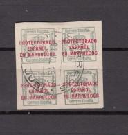 1917 - 1919    EDIFIL  Nº  4Q - Cabo Juby