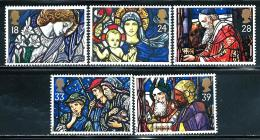 "Great Britain     ""Christmas 1992""   Set   SC# 1468-72   MNH - 1952-.... (Elizabeth II)"
