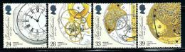 "Great Britain     ""Marine Chronometer""   Set   SC# 1489-92   MNH - 1952-.... (Elizabeth II)"