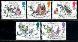 "Great Britain    ""Christmas""   Set   SC# 1528-32    MNH - 1952-.... (Elizabeth II)"