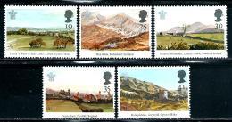 "Great Britain    ""Watercolor Landcapes""   Set     SC# 1548-52    MNH - 1952-.... (Elizabeth II)"