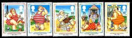 "Great Britain    ""Seaside Characters""   Set     SC# 1553-57    MNH - 1952-.... (Elizabeth II)"