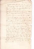 St PIETERS LEEUW / ST LAUREINS BERCHEM : OUDENAKEN: Manuscript 1681 - Historical Documents