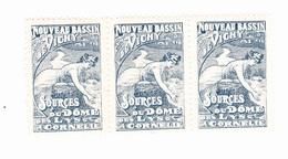 Vignette - Nouveau Bassin De Vichy - Sources Du Dôme Des Lys & Cornelle - Erinnophilie