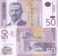 Serbia - 50 Dinara 2005 UNC Ukr-OP - Servië