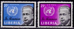 Liberia 1962, Dag Hammarskjold, MNH - Liberia