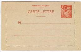 CTN35/3 -  FRANCE EP CL IRIS 1f NEUVE - Entiers Postaux