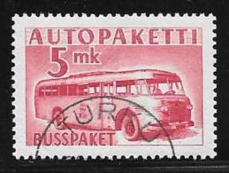 Finland, Scott # Q6 Used Parcel Post, 1952