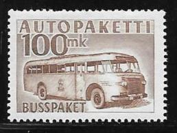 Finland, Scott # Q9 Mint Hinged Parcel Post, 1958