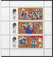 Germany (DDR) 1975  Marchen (**) MNH  Mi.2096-2098 - Unused Stamps