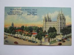 ARTICULOS DE FÉ, ARTICLES OF FAITH, Articles De Foi. ELDER GERALD ARDELL HALE - Sonstige
