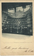 Instalacion En La Exposicion Universalde PARIS 1900- Stand DIEZ HERMANOS - Jerez De La Frontera - Espagne