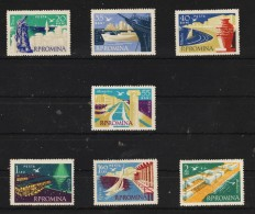 1960 -  Littoral De La Mer Noire  Y&T 1727/1732 + P.A. Et Mi No 1900/1906 - Ungebraucht