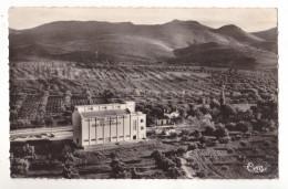 TURENNE  (ORAN)  EN ALGERIE  VUE AERIENNE  LES DOCKS SILOS ET LA GARE - Algeria
