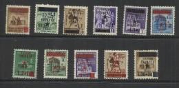 OCCUPAZIONE JUGOSLAVA DI TRIESTE 1945 SERIE COMPLETA  COMPLETE SET MNH