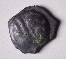 Gauloise LEUQUES (Région De Toul) Dit Potin à La Tête D´indien 1er Siècle Av.JC - Keltische Münzen