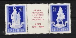 1960 -  15 Anniv De La Victorie Y&T No 1677/1678 Et Mi No 1843/1844 MNH - Ungebraucht
