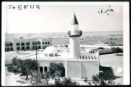 Tobruk, Tobruq, Kyrenaika, FOTO, Palast, Moschee, 14.4.1959 - Libyen