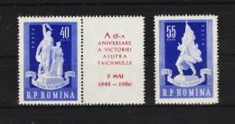 1960 -  15 Anniv De La Victorie Y&T No 1677/1678 Et Mi No 1843/1844 MNH - 1948-.... Republiken