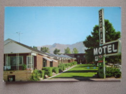 Scenic Motel. Located On U.S. 40 At 1345 Foothill Blvd. 22 Units Overlooking Great Salt Lake Valley. - Salt Lake City