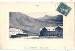 -05- Col Du LAUTARET Hotel Et Chalet  TTB - Autres Communes