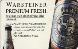Phonecards - Countries > Germany > [1] Phonecards> S-Series : S 79 11.92 1 000 000 DPR.motive. Sport,beer - Warsteiner - Germany