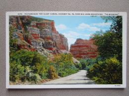 """Picturesque Ten Sleep Canon, Highway No. 16, Over Big Horn Mountains """"in Wyoming"""" - Etats-Unis"""