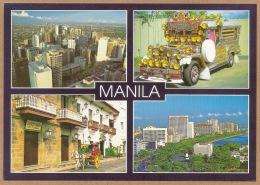 Philippines - Manila, Makati, Jeepney, Intramuros Calesa, Roxan Boulevard, Multi Views PC - Philippines