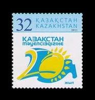 Kazakhstan 2011 Mih. 727 20th Anniversary Of Independence MNH ** - Kazakhstan