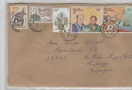 Belgien XX015 / Schöne Frankatur 2016 (5 Marken) Nach Spanien - Briefe U. Dokumente