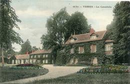 YERRES(ESSONNE) CARTE EN COULEUR - Yerres