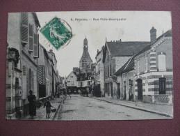 CPA 77 PROVINS Rue Félix Bourquelot RARE PLAN ? 1914 - Provins