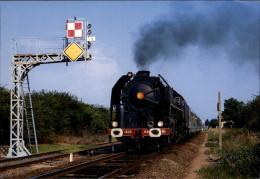 18 - SAINT-AMAND-MONTROND - Train - Locomotive - Saint-Amand-Montrond