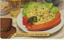 Phonecards - Countries > Germany > [1] Phonecards> O-Series : O 236 02.97 6 000.DTMe. Food From Frankfurt - O-Series : Customers Sets