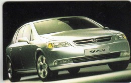 Phonecards - Countries > Germany > [1] Phonecards> O-Series :O 576 08.98 11 000 DTMe. Cars.Opel - O-Series : Customers Sets