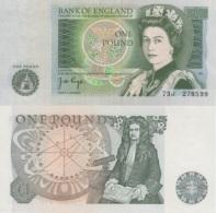 (B0587) GREAT BRITAIN, 1978-1980 (ND). 1 Pound. P-377a. UNC - 1952-… : Elizabeth II
