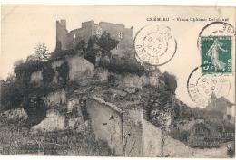 -38- CREMIEU Vieux Château Delphinal - TTB - Crémieu