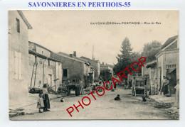 SAVONNIERES EN PERTHOIS-Animation-Rue De Bar-FRANCE-55- - France